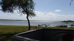Lakeview下午 库存照片