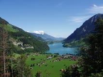 lakeview瑞士 库存图片