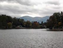 Lakeview berg Royaltyfri Foto