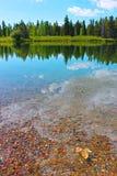 Lakeview des großartigen Nationalparks Teton Lizenzfreie Stockbilder