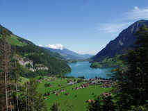 Lakeview die Schweiz Stockbilder
