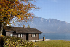 Lakeview Haus Lizenzfreies Stockbild