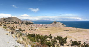 Lakeview near Copacabana. Lake Titicaca. Bolivia Stock Images