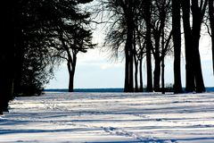 Lakeview Park. View of Lakeview Park Oshawa ON Royalty Free Stock Photo