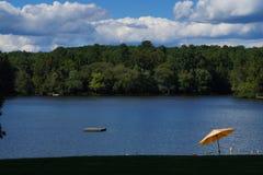 Lakeview w popołudniu Fotografia Stock