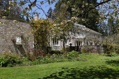 Lakewood, EUA - 29 de abril de 2011 igreja de pedra velha Imagem de Stock