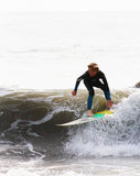 Lakey Peterson Leadbetter Classic, Surfer Stock Afbeeldingen