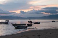 Lakey-Spitze, Sumbawa stockfotografie