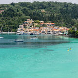 Lakka Bay Stock Photo