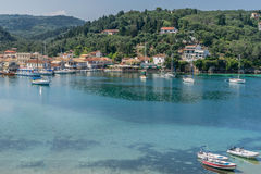 Lakka Bay Royalty Free Stock Image