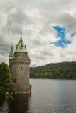 Lakr Vyrnwy vattentorn Julian Bound Royaltyfria Bilder