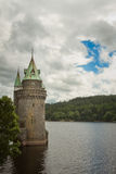 Lake Vyrnwy Water Tower Julian Bound Royalty Free Stock Images