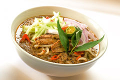 Laksa d'Assam photographie stock