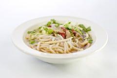Laksa de Penang Assam, alimento de Nyonya do malaio imagens de stock
