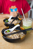 Laksa, Kuching Royalty Free Stock Photo