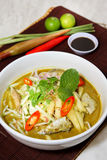 Laksa noodle malaysia Royalty Free Stock Photography