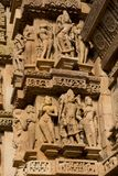 Lakshamana Temple in Khajuraho Royalty Free Stock Image