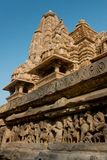 Lakshamana Temple in Khajuraho Stock Photography