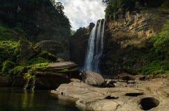 Lakshapana Falls. Ginigathhena sri lanka Royalty Free Stock Photos