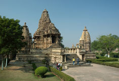 Lakshmana temple at Khajuraho,India Royalty Free Stock Photography