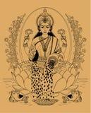 lakshmi Royalty-vrije Stock Afbeeldingen