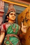 Lakshmi de la diosa en una postura de la bendición Imagen de archivo