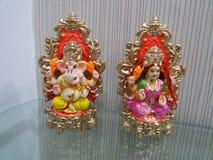 Lakshmi-Ganesh Zdjęcia Stock