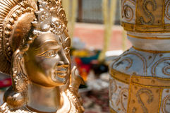 Lakshmi. At a Hindu Wedding Stock Photography