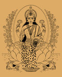 Lakshmi Royalty Free Stock Images