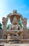 Lakshmi Narasimha, incarnation of Lord Vishnu Royalty Free Stock Photo