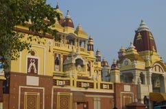 Lakshmi Narayan den hinduiska templet Arkivfoton