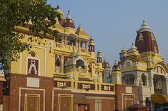 Lakshmi Narayan Hinduska świątynia Zdjęcia Stock