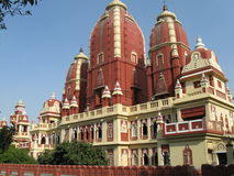 Lakshmi Narayan Mandir Birla Temple Images libres de droits