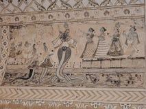 Lakshmi Narayan-tempel, Hindoese godsdienst, Orchha, Madhya Pradesh, India royalty-vrije stock fotografie