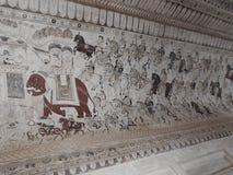 Lakshmi Narayan-tempel, Hindoese godsdienst, Orchha, Madhya Pradesh, India royalty-vrije stock afbeelding