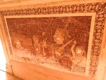 Lakshmi Narayan-tempel, Hindoese godsdienst, Orchha, Madhya Pradesh, India royalty-vrije stock afbeeldingen
