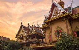 Laksi temple, Bangkok, Thailand. Wat Laksi or Laksi temple is the famous temple at Laksi district stock photos