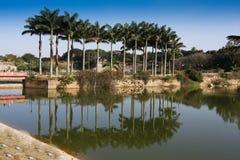 Lal Bagh Gärten Bangalore lizenzfreie stockbilder
