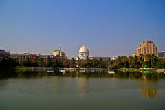 Lal Digh lake in Calcutta Stock Photo