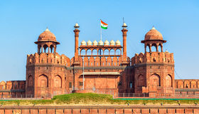 Lal Qila - Red Fort in Delhi, India Stock Photo
