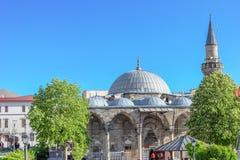 Lala穆斯塔法巴夏清真寺在埃尔祖鲁姆,土耳其 免版税库存图片