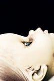 lala brudny profil Obrazy Royalty Free