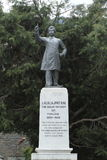 Lala Lajpat Rai-Statue von Shimla in Indien Stockbild