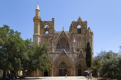 Lala Mustafa Pasha Mosque - Famagusta - Turkish Cyprus Stock Photography