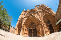 Lala Mustafa Pasha Mosque formerly St. Nicholas Cathedral. Famagusta, Cyprus Stock Image
