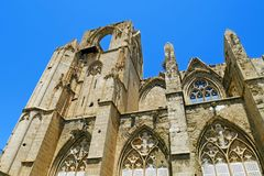 Lala Mustafa Pasha Mosque formerly St. Nicholas Cathedral, Famagusta, Cyprus. Stock Photography