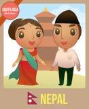 lala Nepalski ilustracja wektor