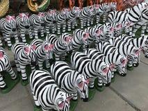 Lala stiuku zebra Zdjęcie Stock