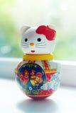 Lala szczęsliwy kot w domu Fotografia Royalty Free