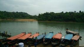 Lalakhal in Bangladesch Stockbild